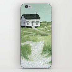 Cottage on the beach iPhone Skin