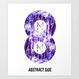 Vinyl abstract Art Print