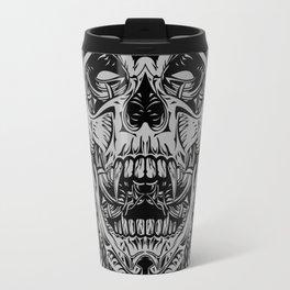 2 FACES SKULL Travel Mug