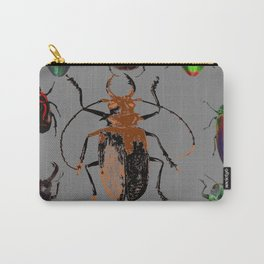 NATURE LOVERS BEETLE BUG COLLECTION ART Carry-All Pouch