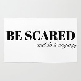 be scared Rug