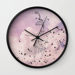 Ms Hitchcock Wall Clock