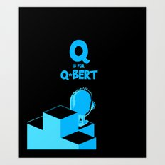 Q is for... Art Print