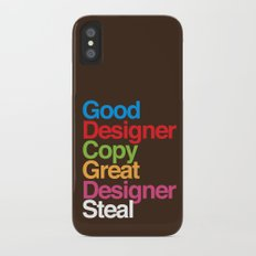 Pablo Picasso Adopted iPhone X Slim Case