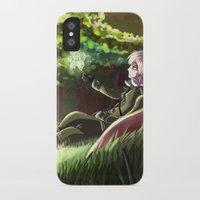 hetalia iPhone & iPod Cases featuring Arthur Kirkland by Kurfluffle
