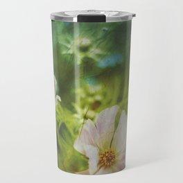 flwrs - summer flowers Travel Mug