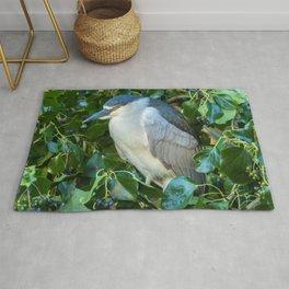 Sleeping Heron Rug