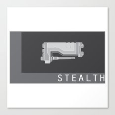 STEALTH Canvas Print