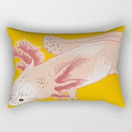 Aztec Salamander Rectangular Pillow