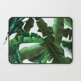 tropical banana leaves pattern 2 Laptop Sleeve