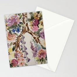 Lung floral Stationery Cards