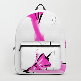 Pink Big Bow Backpack