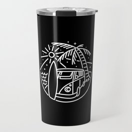 Van, Surf, and Beach Travel Mug
