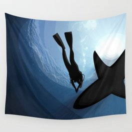 Abyss Wall Tapestry