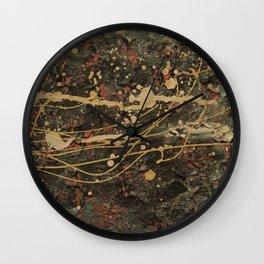 Universe Splatter Wall Clock