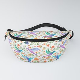 Hummingbirds and Flowers Fanny Pack