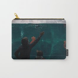Blue Penguins III Carry-All Pouch