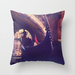 """""""Venice is like eating an entire box of chocolate liqueurs in one go.""""  ― Truman Capote Throw Pillow"""