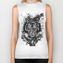 Spirit animal Tiger Biker Tank