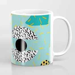 Boss - abstract 80s style memphis vibes patterns 1980's retro minimal throwback decor Coffee Mug