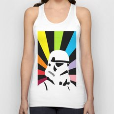 After the Storm... Rainbow Trooper Unisex Tank Top