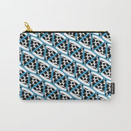 Pizza Pattern (Blue) Carry-All Pouch