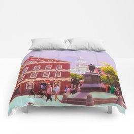 Faneuil Hall Comforters
