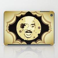 neil gaiman iPad Cases featuring Neil deGrasse Tyson  |  Le Voyage Dans La Lune by Silvio Ledbetter
