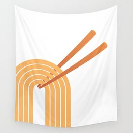 Double Chops Wall Tapestry