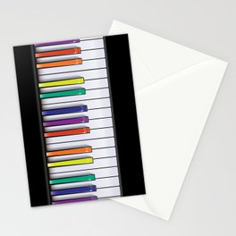 Colour Your Music Stationery Cards