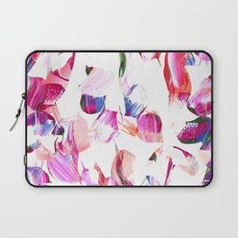 Graffiti Pink and blue Brush stroke pattern Laptop Sleeve