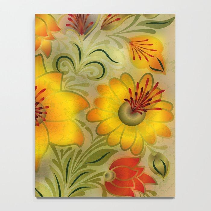 Shabby flowers #9 Notebook