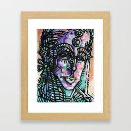 """""""The Sentry"""" (Sorbet) Framed Art Print"""