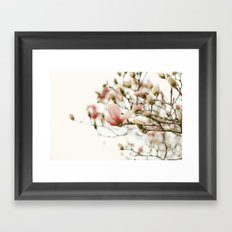 Portraits of Spring - II Framed Art Print