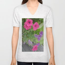 Looking Down Unisex V-Neck