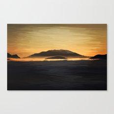 Nigrum Canvas Print