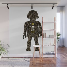The Playmobil Wicker Man Wall Mural