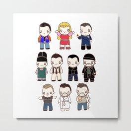 Chris Characters Metal Print