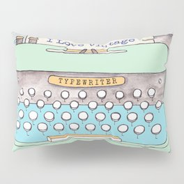 Typewriter #8 Pillow Sham
