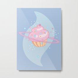 Galctic Cupcake Metal Print