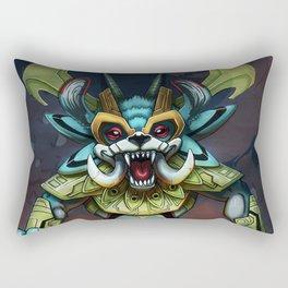 Beast Warrior Rectangular Pillow