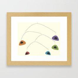 Mid-Century Modern Art 2.6 Framed Art Print
