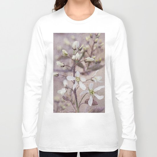 Vintage Spring flowers Long Sleeve T-shirt