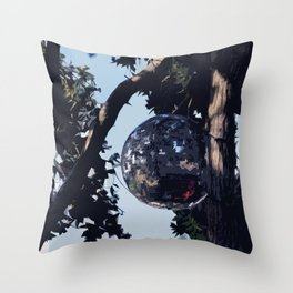 Disco Tree - Isles of Scilly Throw Pillow