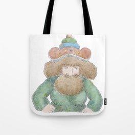 Baba the Turk Tote Bag