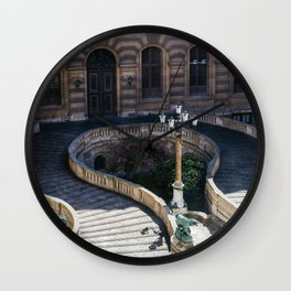 Louvre Staircase Wall Clock