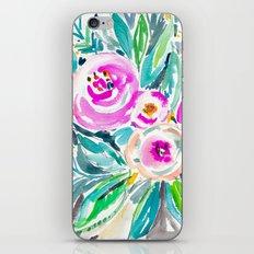 Pink Abundance Floral iPhone & iPod Skin