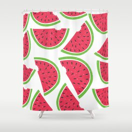 Watermelon Summer Shower Curtain