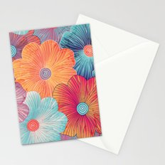 Big Bright Flowers Stationery Cards