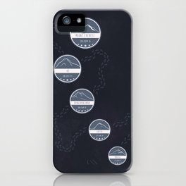 Highest Mountains on Earth iPhone Case